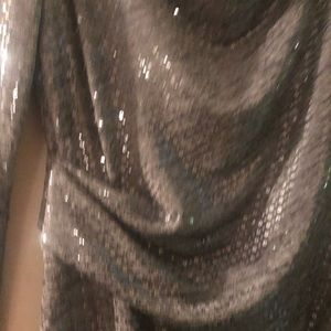 Jessica Howard Dresses - Sparkly silver cocktail dress size 12